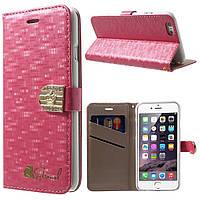 Чехол книжка Diamond & Crown Folio для Apple iPhone 6 6s 4.7 розовый