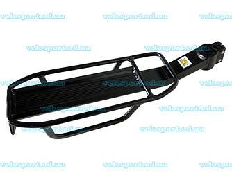 Велобагажник KWA-618-05 черный под колесо 26''-28'