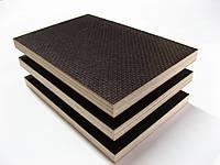 Фанера ламинированная ФСФ 2500х1250х35 мм сет/гл ОДЕК