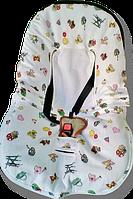 """Детский конверт для автокресла / коляски """"Ontario Linen"""" Baby Travel Premium (Весна-Лето-Осень)  (Скидка на доставку Новой почтой - 25%)"""