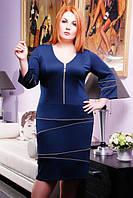 Трикотажное платье  Лола большие размеры 50-56