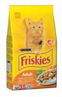 Friskies для кошек (мясо, курица, печень), 10 кг