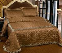 Покрывало Arya 250Х260 Marbella темно-коричневое
