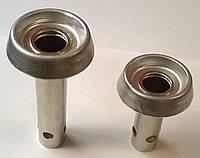 Горелка газовой плиты Дружковка с крышкой (на короткой ножке) код товара:7151