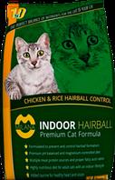 Milana Indoor Hairball с курицей и рисом сухой корм для кошек 18,14 кг