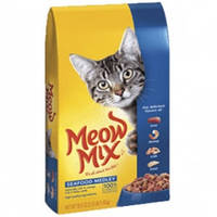 Meow Mix Seafood сухой корм для кошек  6,44кг