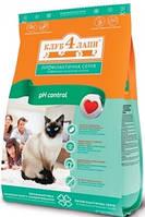 Клуб 4 лапы для котов для здоровья мочеиспускательной системы 11 кг