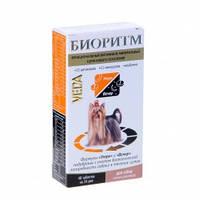Биоритм витамины для собак мелких пород, Веда