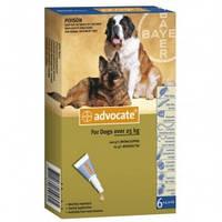 Advocate (Адвокат) Bayer для собак 25-40 кг, 3 пипетки