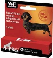 Фипрекс 75 спот - он для собак 2-10 кг (3 пипетки)