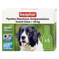 Bio spot on Beaphar БИО КАПЛИ против блох и клещей для собак свыше 30 кг