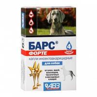 Барс Форте АВЗ капли от блох и клещей для собак для взрослых собак