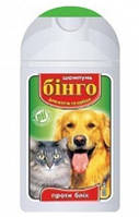 Шампунь Бинго для котов и собак против блох 100 мл