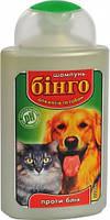 Шампунь Бинго для котов и собак против блох 200 мл
