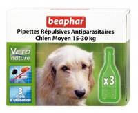 Bio spot on Beaphar БИО КАПЛИ против блох и клещей для собак 15-30 кг