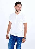 Мужская футболка поло белая серая  Alexandr Mqueen в цветах