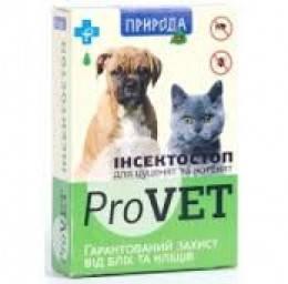 Инсектостоп ProVET капли против блох для щенков и котят