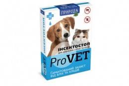 Инсектостоп  ProVET капли против блох для взрослых собак и кошек