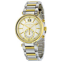 Часы Michael Kors Sawyer Silver Dial Two-tone Stainless Steel Band MK6225