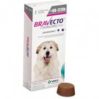Бравекто (Bravecto), 40 - 56 кг защита от блох и клещей