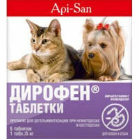 Дирофен для собак и котов