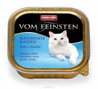 Animonda Vom Feinsten с Индейкой и форелью для котов 100 г
