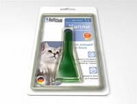 RolfClub капли от клещей и блох для кошек до 4 кг