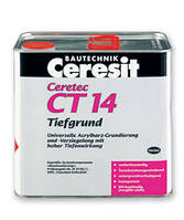 Грунтовка универсальная глубокопроникающая Ceresit CT 14 5л