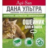 Дана Ультра ошейник против блох и клещей для кошек