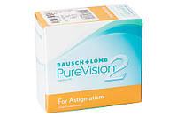 Торические линзы PureVision 2 for Astigmatism 1 шт.)
