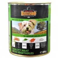 Belcando Отборное мясо/Овощи (зеленый) консервы для собак 0,8 кг