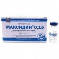 Максидин глазной 0,15    5 мл