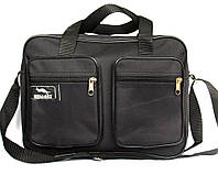 Чоловіча сумка містка 2 в 1 чорна (2610)