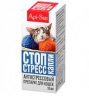 Стоп-стресс капли для кошек 10 мл