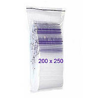 Пакеты-струна ZIP-LOCK 200x250 мм 50 шт/уп