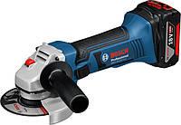 Аккумуляторная угловая шлифмашина Bosch GWS 18-125 V-LI L-BOXX (060193A30B)