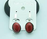 Сережки для молодых девушек из натурального камня от Бижутерии RRR в Украине. 2202