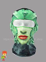 Балаклава с 3D рисунком BW-01, фото 1