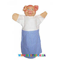 Кукла-рукавичка Поросенок Чудисам В080