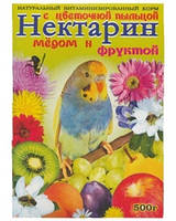 ВИМ для попугаев Нектарин 500гр