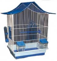 Мини-3 цинк, Клетка для попугаев (волнистых) и птиц, Лори, 330*230*470