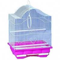 Клетка для попугаев (волнистых) и птиц 113 30*23*39* см эмаль
