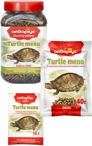 Аквариус 10г Меню для черепах
