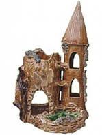 Декорация для Аквариума Керамика Замок пень № 246