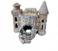 Декорация для Аквариума Керамика Замок Ф №125