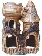Декорация для Аквариума Керамика Замок двойной № 232