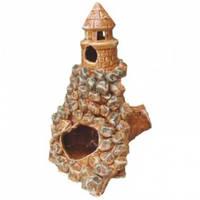 Декорация для Аквариума Керамика Скала купол № 238