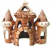 Декорация для Аквариума Керамика Замок средний № 32