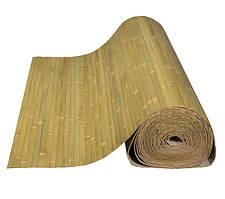 Бамбуковые обои, бледно-зеленые, нелак. BW 202 п.17 мм, высота рул.0,9 м