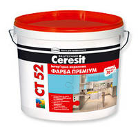 Интерьерная акриловая краска Ceresit CT 52 Премиум 5л